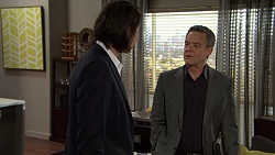 Leo Tanaka, Paul Robinson in Neighbours Episode 7481