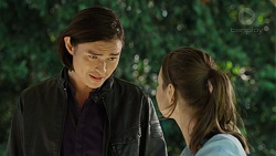Leo Tanaka, Amy Williams in Neighbours Episode 7482