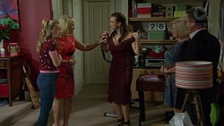 Xanthe Canning, Brooke Butler, Amy Williams, Sheila Canning, Paul Robinson in Neighbours Episode 7483