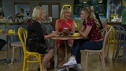 Sheila Canning, Brooke Butler, Xanthe Canning in Neighbours Episode 7483