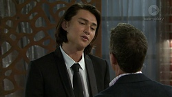 Leo Tanaka, Paul Robinson in Neighbours Episode 7483