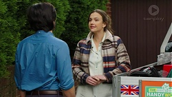 David Tanaka, Amy Williams in Neighbours Episode 7484