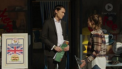 Leo Tanaka, Amy Williams in Neighbours Episode 7484