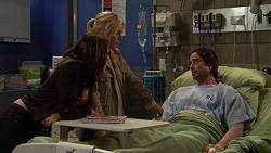 Paige Novak, Lauren Turner, Brad Willis in Neighbours Episode 7484