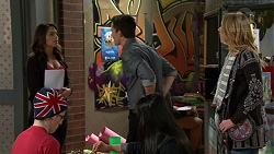 Paige Novak, Jack Callaghan, Simone Bader in Neighbours Episode 7484