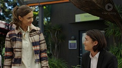 Amy Williams, Leo Tanaka in Neighbours Episode 7484