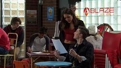 Paige Novak, Nick Deng in Neighbours Episode 7484