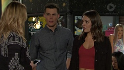 Simone Bader, Jack Callaghan, Paige Novak in Neighbours Episode 7484