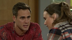 Aaron Brennan, Amy Williams in Neighbours Episode 7484