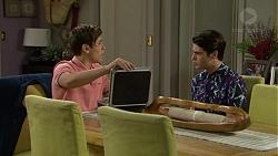 Angus Beaumont-Hannay, Ben Kirk in Neighbours Episode 7485