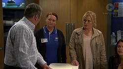 Karl Kennedy, Eve Fisher, Lauren Turner in Neighbours Episode 7485