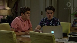 Angus Beaumont-Hannay, Ben Kirk in Neighbours Episode 7485