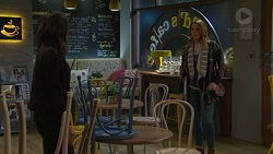 Paige Smith, Simone Bader in Neighbours Episode 7485