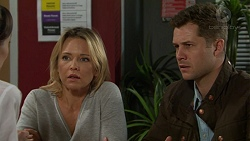 Steph Scully, Mark Brennan in Neighbours Episode 7485