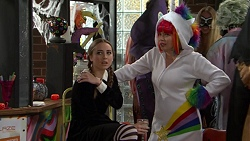Piper Willis, Xanthe Canning in Neighbours Episode 7486