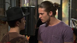 Angus Beaumont-Hannay, Tyler Brennan in Neighbours Episode 7486