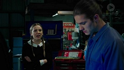 Piper Willis, Tyler Brennan in Neighbours Episode 7486