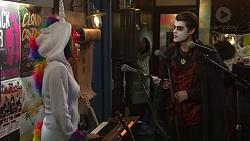 Xanthe Canning, Ben Kirk in Neighbours Episode 7486