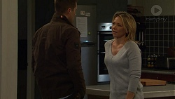 Mark Brennan, Steph Scully in Neighbours Episode 7486