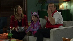 Sonya Mitchell, Nell Rebecchi, Toadie Rebecchi in Neighbours Episode 7486