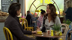 Leo Tanaka, Elly Conway in Neighbours Episode 7488
