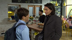 Angus Beaumont-Hannay, Leo Tanaka in Neighbours Episode 7488