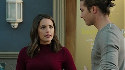 Paige Smith, Tyler Brennan in Neighbours Episode 7488