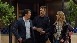 Jack Callahan, Mark Brennan, Simone Bader in Neighbours Episode 7488