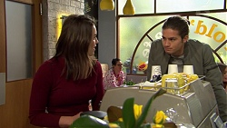 Paige Novak, Tyler Brennan in Neighbours Episode 7489