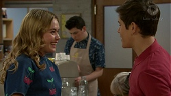 Xanthe Canning, Angus Beaumont-Hannay in Neighbours Episode 7489