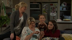 Lauren Turner, Kathy Carpenter, Piper Willis, Paige Smith in Neighbours Episode 7490