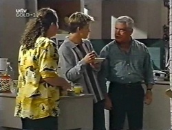 Toadie Rebecchi, Billy Kennedy, Lou Carpenter in Neighbours Episode 3001