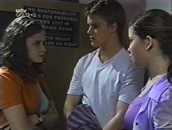 Caitlin Atkins, Billy Kennedy, Anne Wilkinson in Neighbours Episode 3002