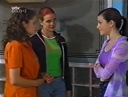 Caitlin Atkins, Mandi Rodgers, Anne Wilkinson in Neighbours Episode 3002