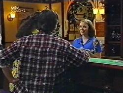 Toadie Rebecchi, Darren Stark, Libby Kennedy in Neighbours Episode 3002