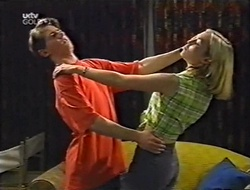 Lance Wilkinson, Amy Greenwood in Neighbours Episode 3004