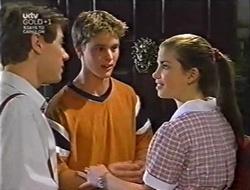 Lance Wilkinson, Billy Kennedy, Anne Wilkinson in Neighbours Episode 3005