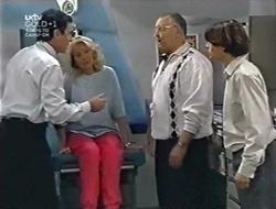 Karl Kennedy, Madge Bishop, Harold Bishop, Paul McClain in Neighbours Episode 3005