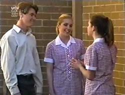 Lance Wilkinson, Amy Greenwood, Anne Wilkinson in Neighbours Episode 3005