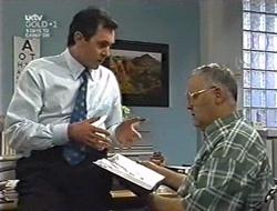 Karl Kennedy, Harold Bishop in Neighbours Episode 3005