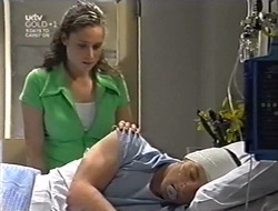 Caitlin Atkins, Ben Atkins in Neighbours Episode 3005