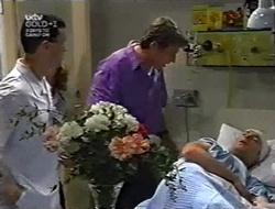 Geoff Burke, Ben Atkins in Neighbours Episode 3006