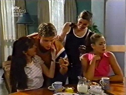 Susan Kennedy, Billy Kennedy, Anne Wilkinson, Sarah Beaumont in Neighbours Episode 3006
