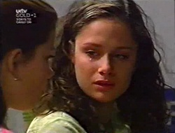 Anne Wilkinson, Caitlin Atkins in Neighbours Episode 3006