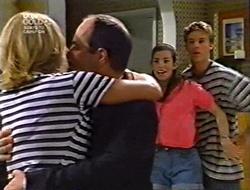 Ruth Wilkinson, Philip Martin, Anne Wilkinson, Billy Kennedy in Neighbours Episode 3006