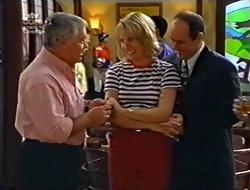Lou Carpenter, Ruth Wilkinson, Philip Martin in Neighbours Episode 3007