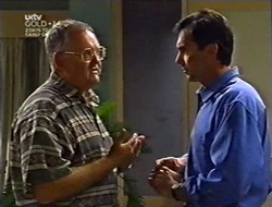 Harold Bishop, Karl Kennedy in Neighbours Episode 3007