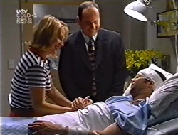 Ruth Wilkinson, Philip Martin, Ben Atkins in Neighbours Episode 3007
