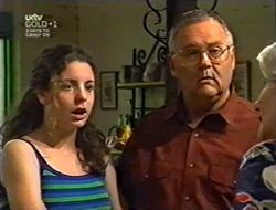 Hannah Martin, Harold Bishop, Madge Bishop in Neighbours Episode 3007