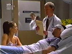 Sarah Beaumont, Dr. Shepherd, Ben Atkins in Neighbours Episode 3007